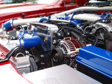 blue-silver-black-car-engine-65623